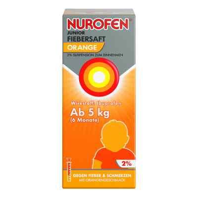 Nurofen Junior Fiebersaft Orange 2%  bei vitaapotheke.eu bestellen
