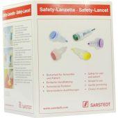 Safety Lanzette 21 G norm.grün Einst.tiefe 1,8 mm  bei apo.com bestellen