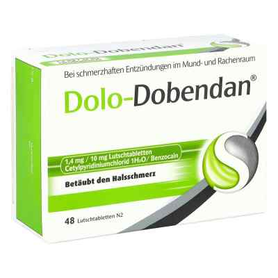 DOLO-DOBENDAN Lutschtabletten bei Halsschmerzen  bei apotheke-online.de bestellen