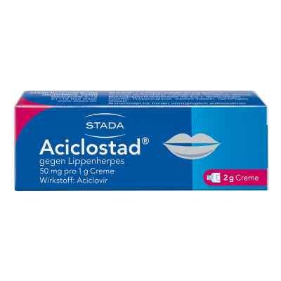 Aciclostad gegen Lippenherpes 50mg pro 1g  bei vitaapotheke.eu bestellen