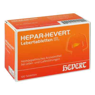 Hepar Hevert Lebertabletten Sl  bei apo.com bestellen