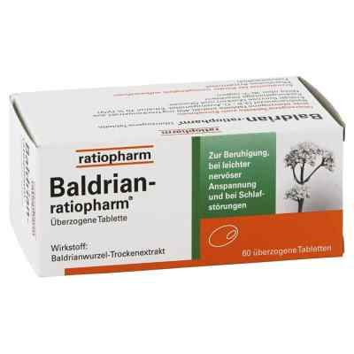 Baldrian Ratiopharm überzogene Tabletten  bei apotheke-online.de bestellen