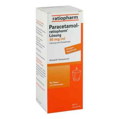 Paracetamol-ratiopharm 40mg/ml Lösung zum Einnehmen  bei apotheke-online.de bestellen