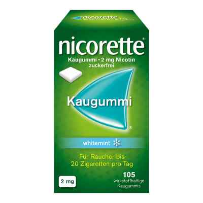 Nicorette 2mg whitemint  bei vitaapotheke.eu bestellen