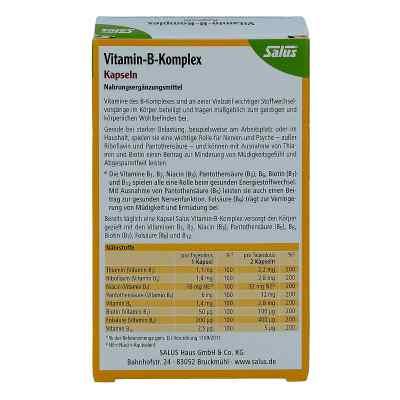 vitamin b komplex vegetabile kapseln salus 60 stk. Black Bedroom Furniture Sets. Home Design Ideas