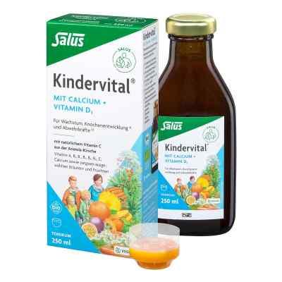 Kindervital Bio mit Calcium+d3 Tonikum Salus  bei vitaapotheke.eu bestellen