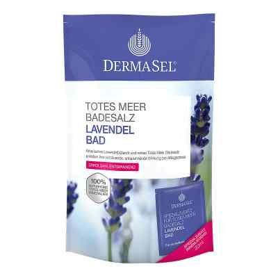 Dermasel Totes Meer Badesalz+lavendel Spa  bei apo.com bestellen