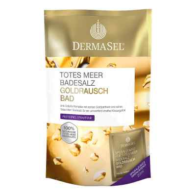 Dermasel Totes Meer Badesalz+gold Exklusiv  bei apo.com bestellen