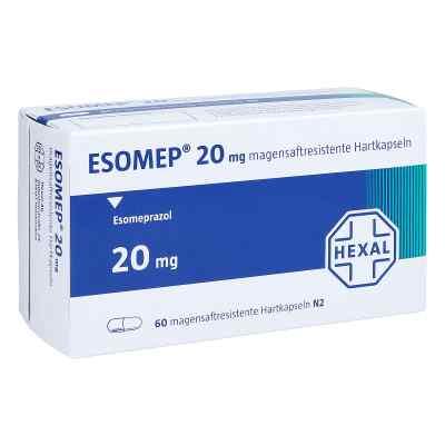 Esomep 20 mg magensaftresistente Hartkapseln  bei apo.com bestellen