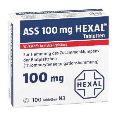 ASS 100mg HEXAL  bei apotheke-online.de bestellen