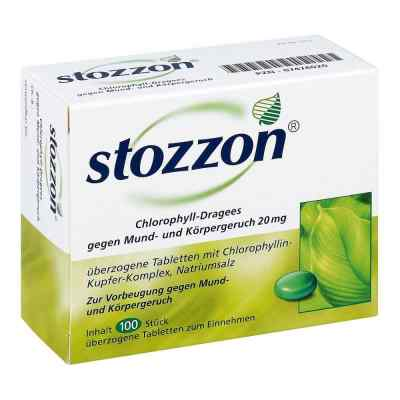 Stozzon Chlorophyll-Dragees gegen Mund- und Körpergeruch  bei vitaapotheke.eu bestellen