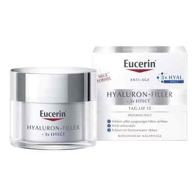 Eucerin Anti-age Hyaluron-filler Tag trockene Haut  bei vitaapotheke.eu bestellen