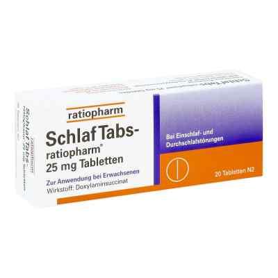 SchlafTabs-ratiopharm 25mg  bei apotheke-online.de bestellen