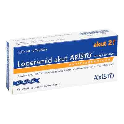 Loperamid akut Aristo 2mg  bei apotheke-online.de bestellen