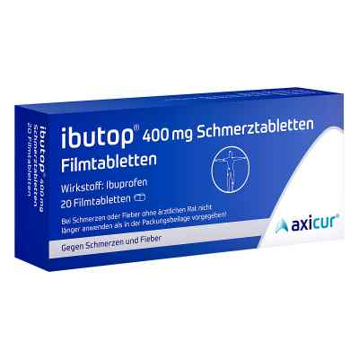 Ibutop 400mg Schmerztabletten  bei apotheke-online.de bestellen