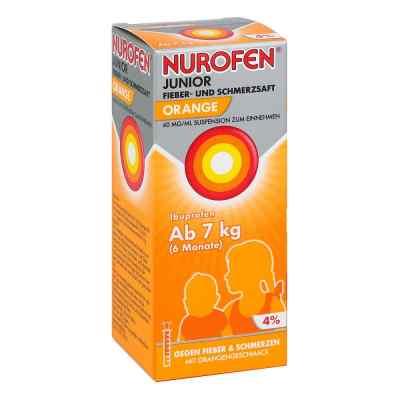 NUROFEN Junior Fieber- & Schmerzsaft Orange  bei apo.com bestellen