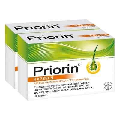Priorin 2x120 Kapseln + 30 Kapseln gratis  bei apotheke-online.de bestellen