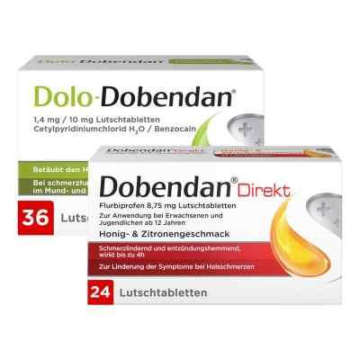 Dolo-Dobendan 36 stk + Dobendan Direkt Flurbiprofen 24 stk  bei apo.com bestellen