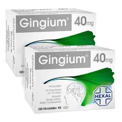 Gingium intens 40mg   bei apo.com bestellen