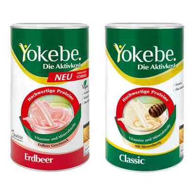 Yokebe Classic & Erdbeer Starterpaket  bei vitaapotheke.eu bestellen