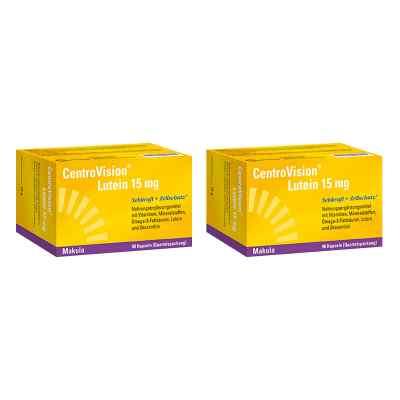 Centrovision Lutein forte Omega 3 Kapseln  bei vitaapotheke.eu bestellen