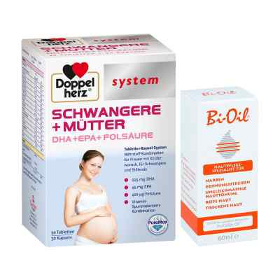 Doppelherz Schwangere  Mütter mit Bi Oil  bei apotheke-online.de bestellen