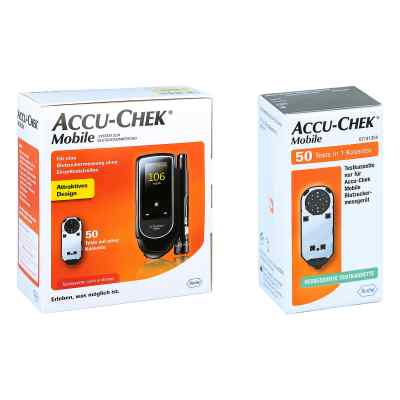 Accu Chek Mobile Set mg/dl Iii + Accu Chek Mobile Testkassette  bei apo.com bestellen
