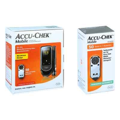 Accu Chek Mobile Set mmol/l Iii + Accu Chek Mobile Testkassette  bei apo.com bestellen