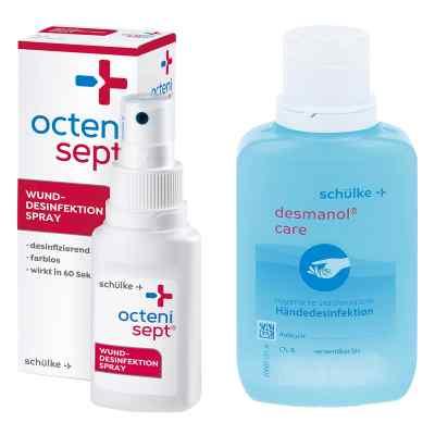Octenisept Lösung 50ml + Desmanol pure Händedesinfektion 100ml  bei apo.com bestellen