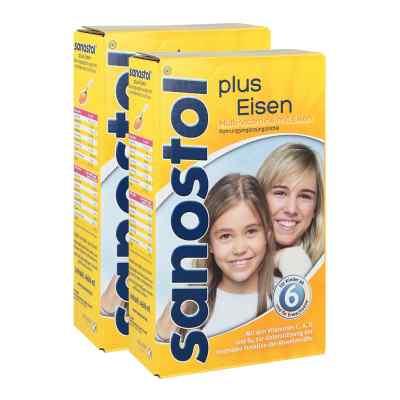 Sanostol plus Eisen Saft und Dosierspender  bei apo.com bestellen
