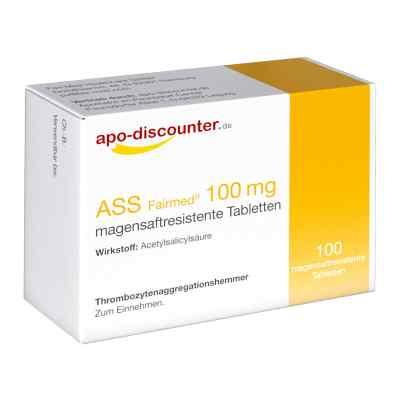 ASS 100mg von apo-discounter  bei apotheke-online.de bestellen