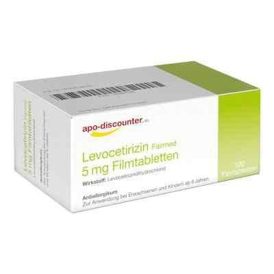 Levocetirizin 5 mg Filmtabletten von apo-discounter - bei Allerg  bei apo.com bestellen