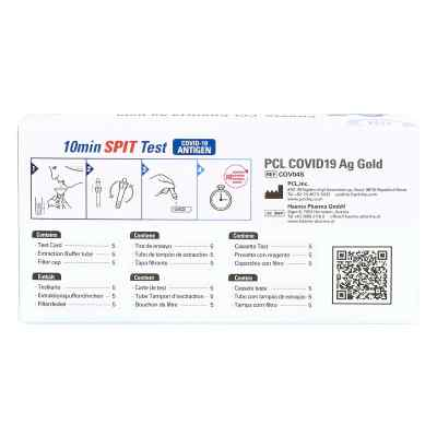 COV04S PCL COVID19 Ag Gold Speicheltest  bei apo.com bestellen