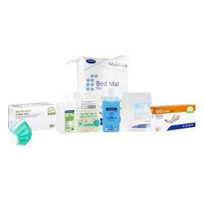 Pflegebox mit Handschuhe Größe S  bei apo.com bestellen
