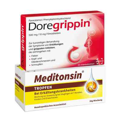 Meditonsin + Doregrippin  bei apo.com bestellen