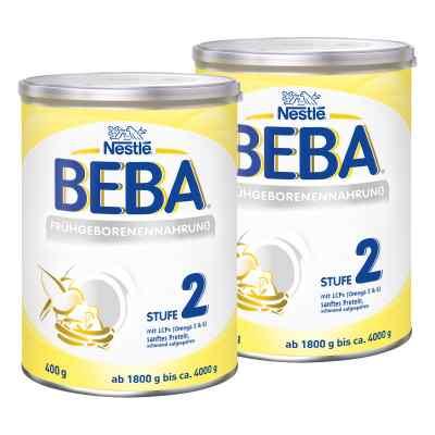 Nestle Beba Frühgeborenen Nahrung Stufe 2 2er Paket  bei apo.com bestellen