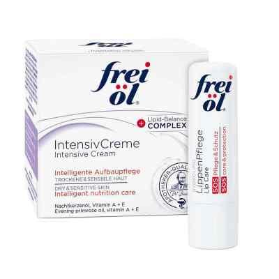 Frei Öl Intensivcreme (50 ml) + Frei Öl Lippenpflege gratis  bei apo.com bestellen