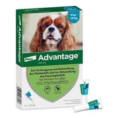 Advantage 100 für Hunde Lösung  bei apotheke-online.de bestellen