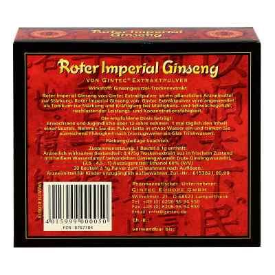 Roter Imperial Ginseng Extraktpulver  bei apo.com bestellen