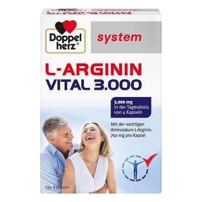 Doppelherz L-arginin Vital 3000 system Kapseln  bei vitaapotheke.eu bestellen