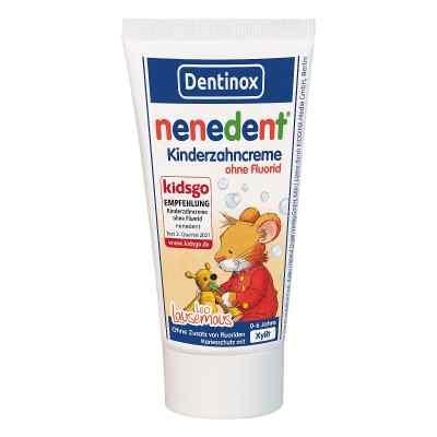 Nenedent Kinderzahncreme ohne Fluorid Standtube  bei vitaapotheke.eu bestellen