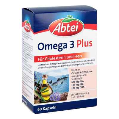 Abtei Omega 3 6 9 Lachsöl+leinöl+oliv.öl Kapseln  bei apo.com bestellen