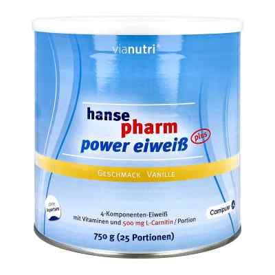 Hansepharm Power Eiweiss plus Vanille Pulver  bei vitaapotheke.eu bestellen