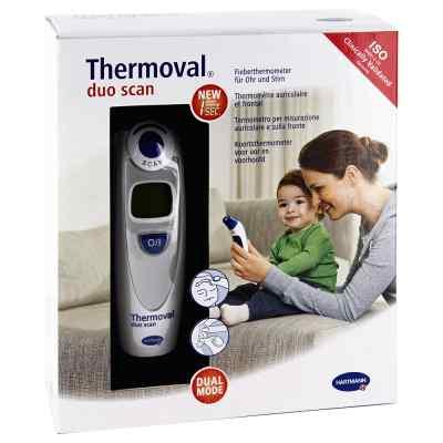 Thermoval duo scan Fieberthermometer für Ohr+Stirn  bei apotheke-online.de bestellen