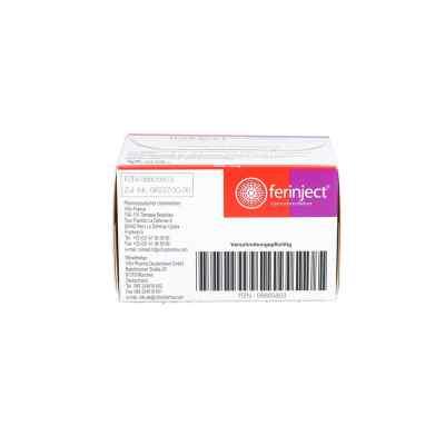Ferinject 50 mg Eisen/ml Injektions-/infusionslsg.  bei apo.com bestellen