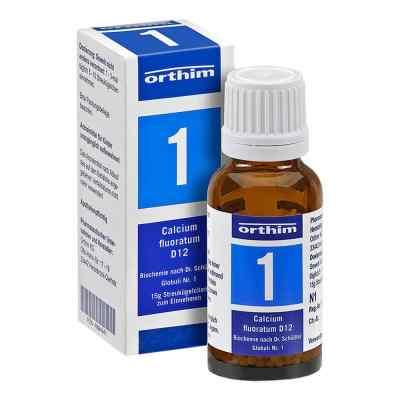 Biochemie Globuli 1 Calcium fluoratum D 12  bei apo.com bestellen
