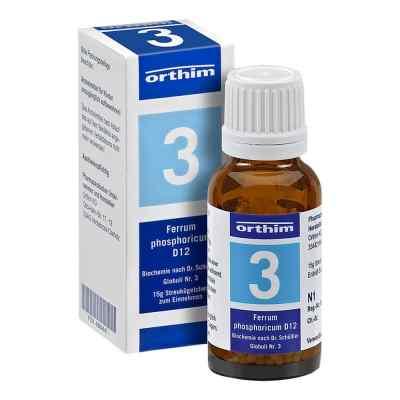 Biochemie Globuli 3 Ferrum phosphoricum D 12  bei vitaapotheke.eu bestellen