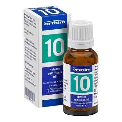 Biochemie Globuli 10 Natrium sulfuricum D 6  bei apo.com bestellen