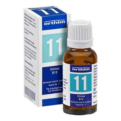 Biochemie Globuli 11 Silicea D 12  bei apo.com bestellen