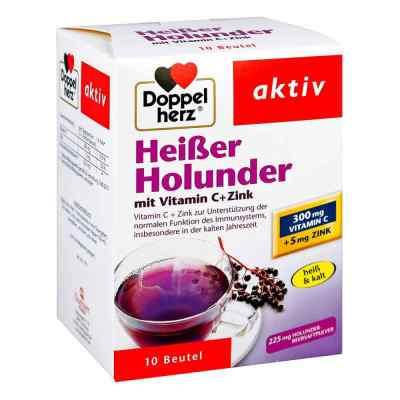 Doppelherz Heisser Holunder mit Vitamin C +Zink Granulat  bei apotheke-online.de bestellen